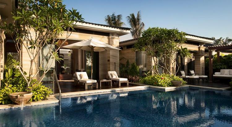 三亚海棠湾康莱德酒店联排泳池别墅