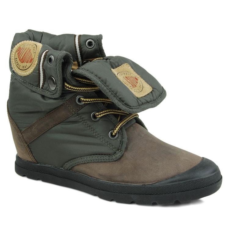 palladium/帕拉丁 美国直邮 美国女鞋 拼色潮流女士高帮鞋户外女士