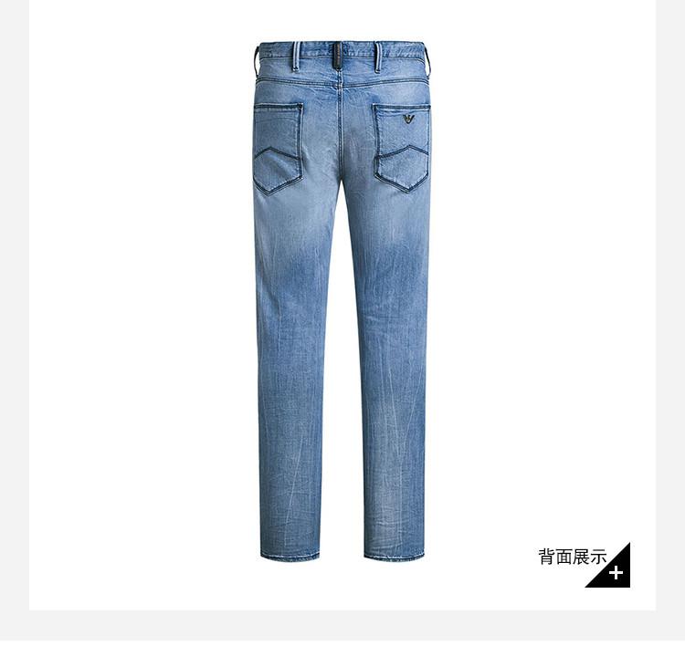 �:*�ZJ~XZ_【包税】armani jeans/阿玛尼牛仔 男士牛仔裤棉/氨纶 3y6j06 6d1xz