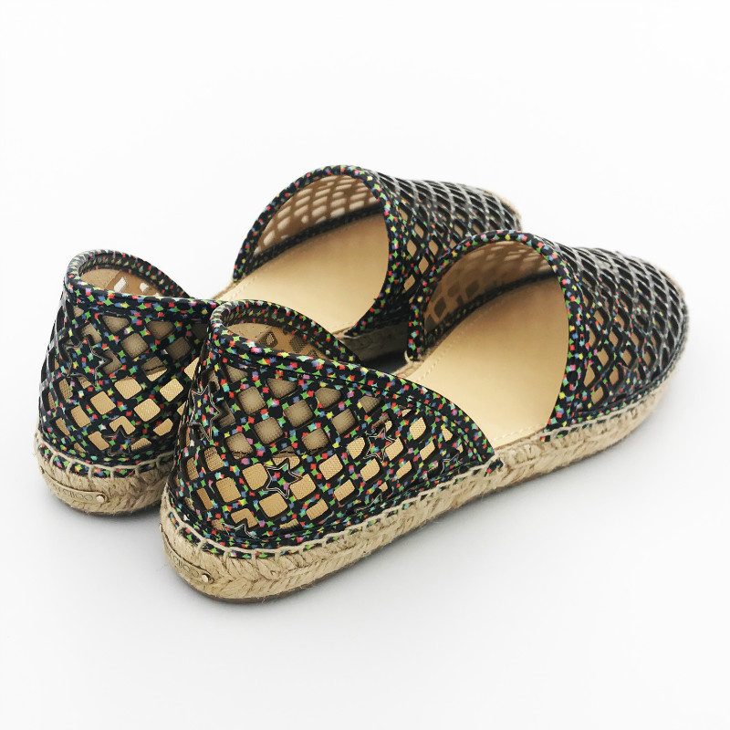 jimmy choo女士平底编织凉鞋