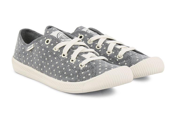 palladium/帕拉丁 美国直邮 夏季 时尚波点低帮休闲帆布鞋户外女士