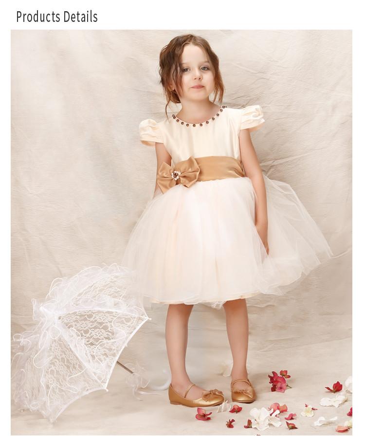 hanakimi英国品牌儿童礼服连衣裙公主裙女童婚纱礼服幼儿蓬蓬裙演出服
