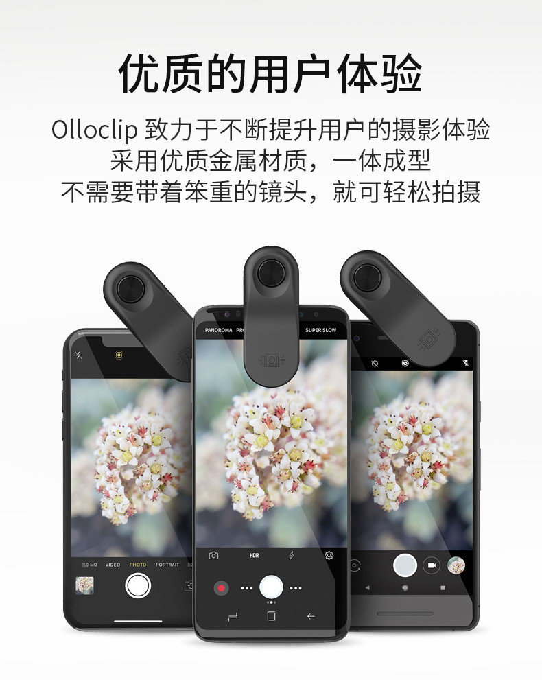 Olloclip手机微距镜头广角小米安卓华为苹果手东莞二手机图片
