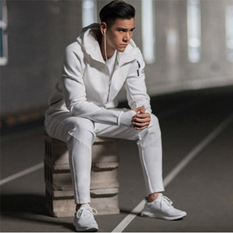 19春夏 adidas阿迪达斯男装外套 新款运动服连帽防风舒适透气经典潮流