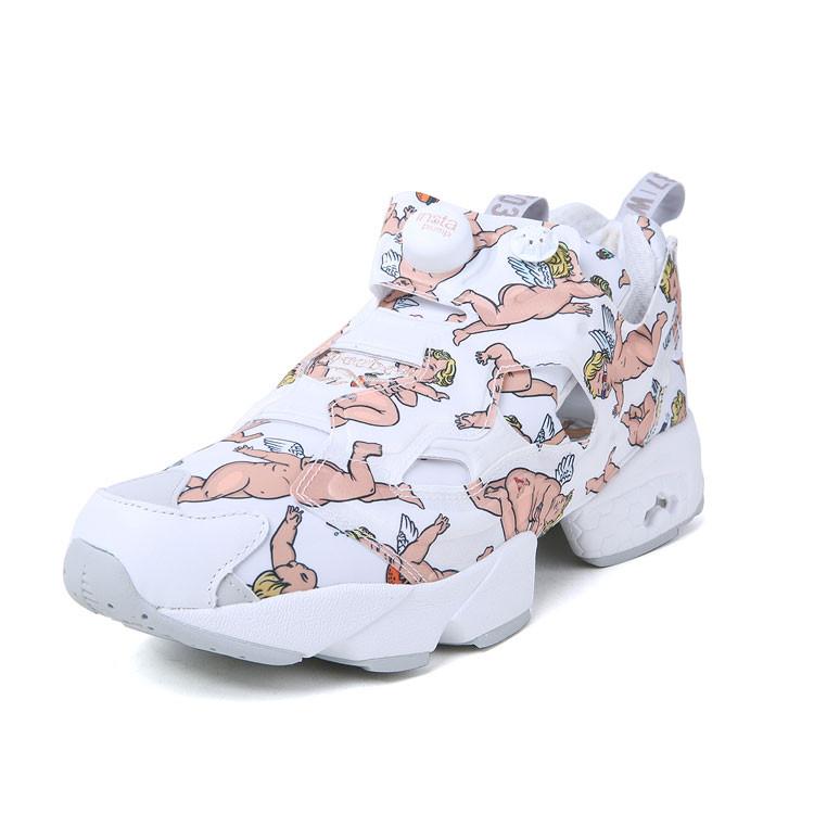 reebok/锐步丘比特图案白色男士休闲运动鞋97c4rebsh001【官方授权】