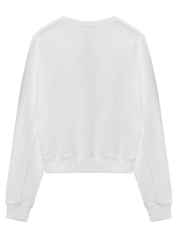 CHIARA FERRAGNI/琪亚拉·法拉格尼棉线圈女卫衣CFF006