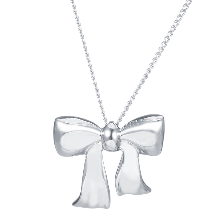 Tiffany Co. 蒂芙尼 925银蝴蝶结项链
