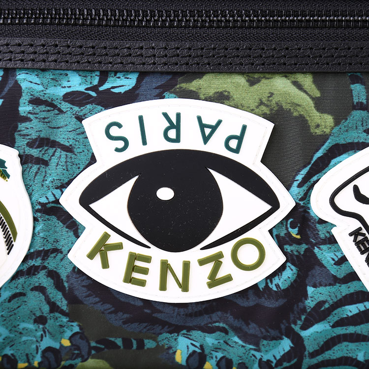 kenzo(高田贤三) 动物图案眼睛尼龙双肩包