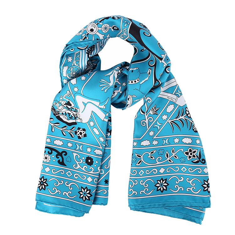 ebc3a4d000022e4c_hermes(爱马仕) m蓝色图案140大丝巾pr000022