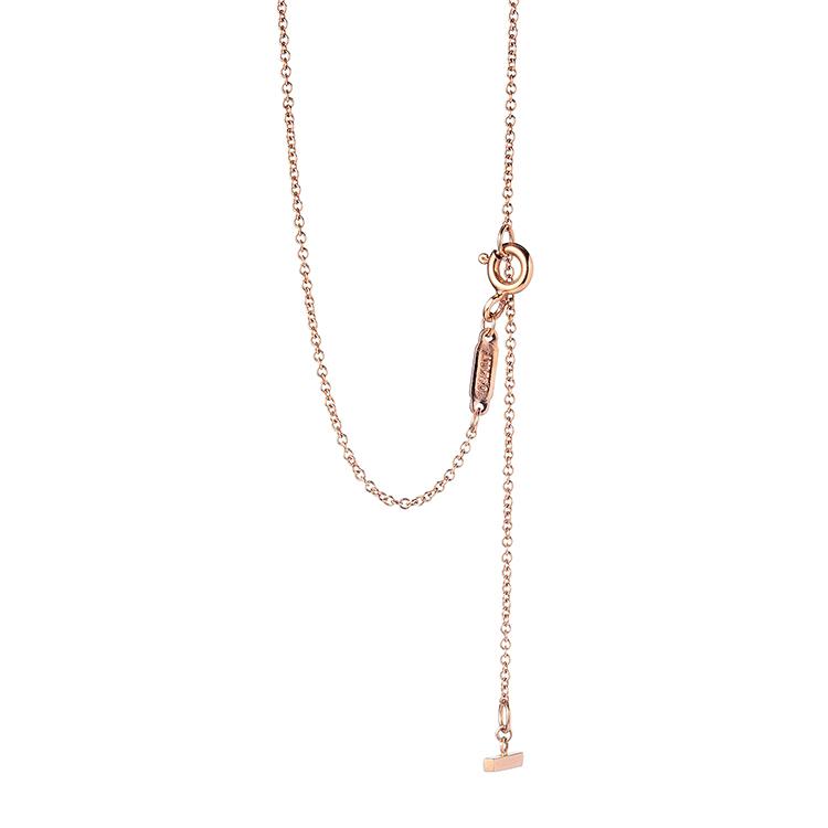 Tiffany Co. 蒂芙尼 18k玫瑰金笑脸项链