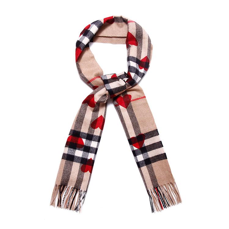 心形围巾编织方法图解