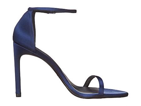图尔特韦茨曼 一字带细高跟凉鞋藏蓝色8452192