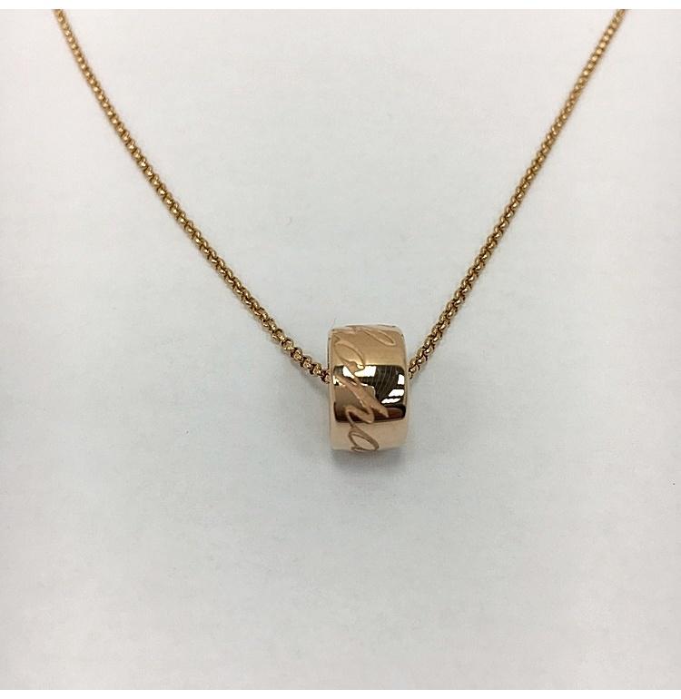 chopard(萧邦) 18k玫瑰金项链