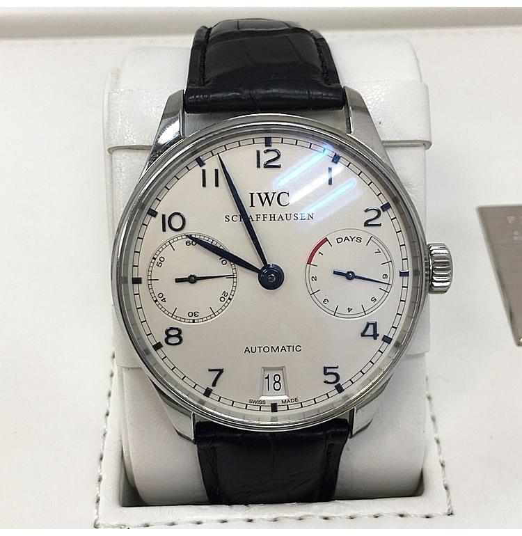 iwc(萬國) iwc/萬國葡萄牙系列男式自動機械腕表iw500107圖片