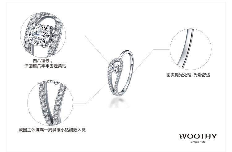 白金戒指手绘设计图分享展示
