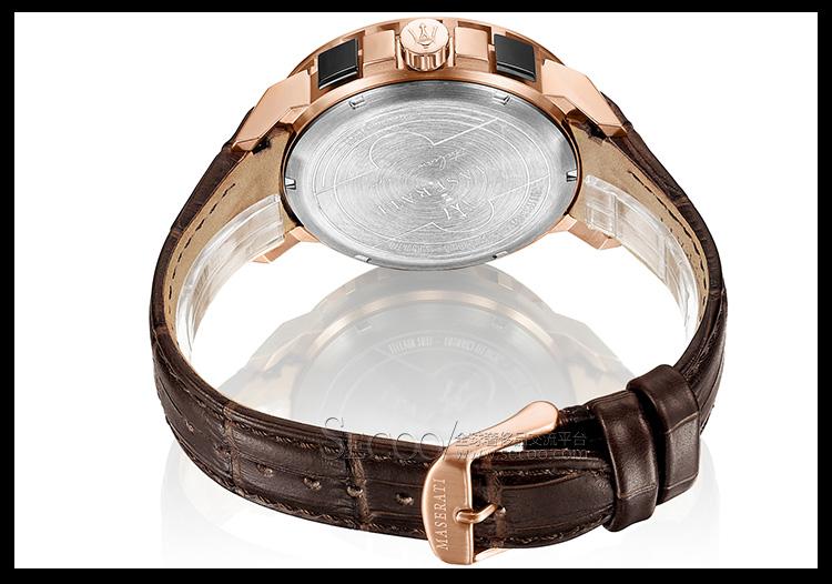 玛莎拉蒂maserati时尚多功能计时男士石英腕表r8871619001