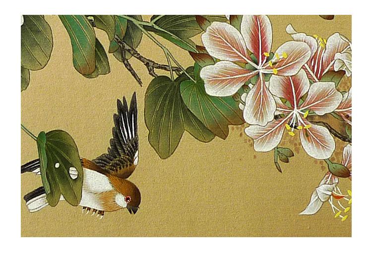 【caitangyishu采堂艺术 传统水墨】玉如 《花鸟小品之二》 传统水墨 工笔花鸟【正品 价格 图片】 - 寺库网