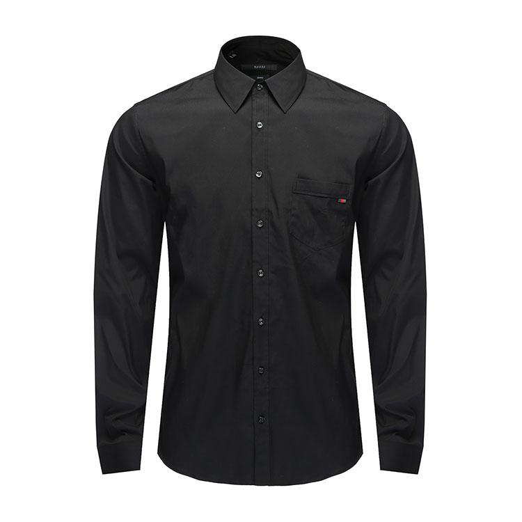 gucci/古驰 男士衬衣 黑色