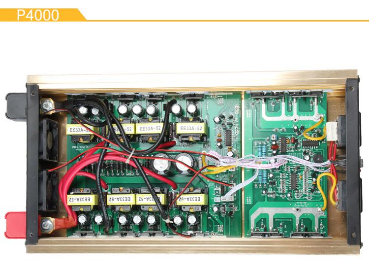 弘品4000w/2000w 家用逆变器 大功率 12v转220v 车载电源转换器 弘品p