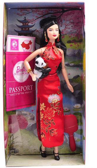 barbie/芭比娃娃 旗袍芭比