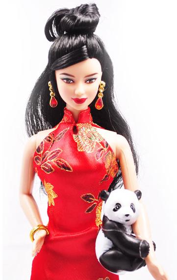 【barbie/芭比娃娃 旗袍芭比