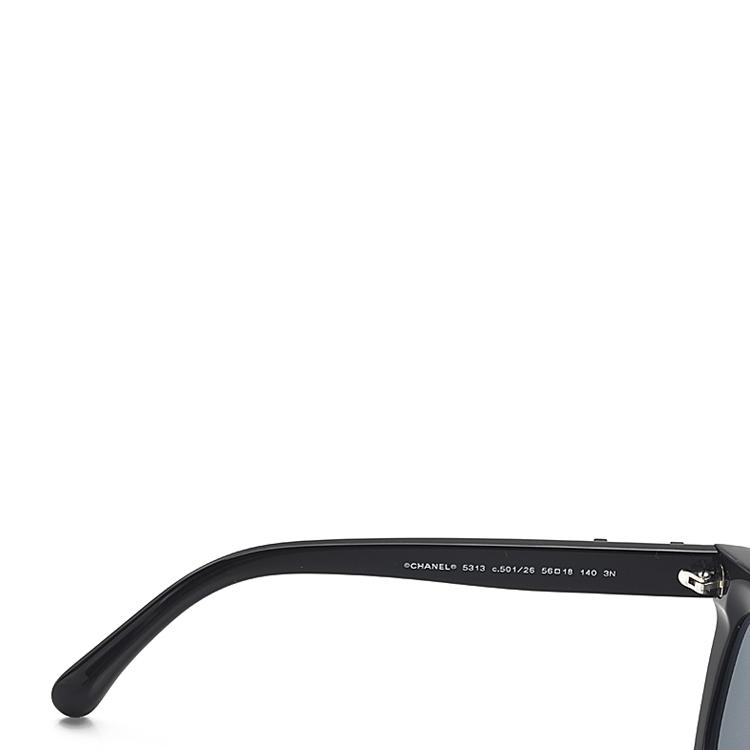 chanel/香奈儿黑色眼镜ml