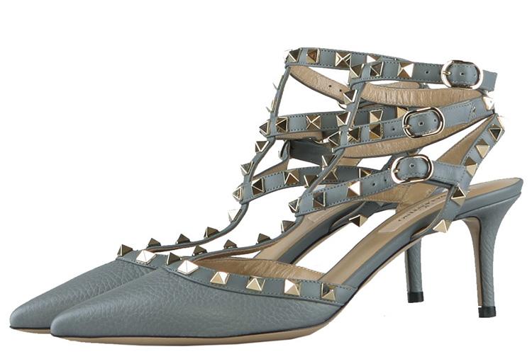 Valentino 华伦天奴 女鞋高跟鞋 灰色 36