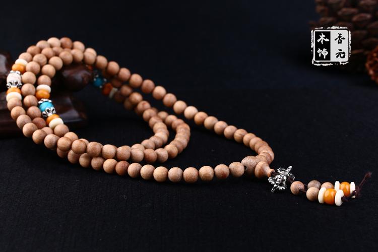 天然印度老山檀香手链