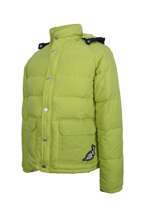柠檬绿外套搭配图片