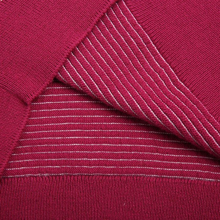 KENZO/高田贤三 女装红色间条套头衫