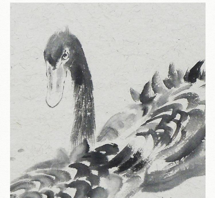 陈忠林 《一生相随》传统水墨 写意 动物