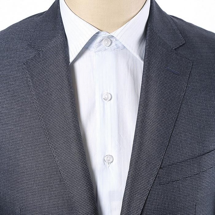 男士西服衬衫下摆穿法图解