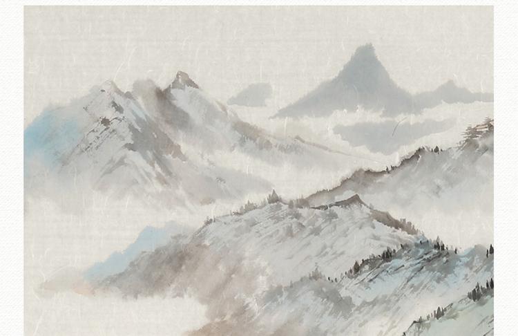 图 传统水墨 写意 山水