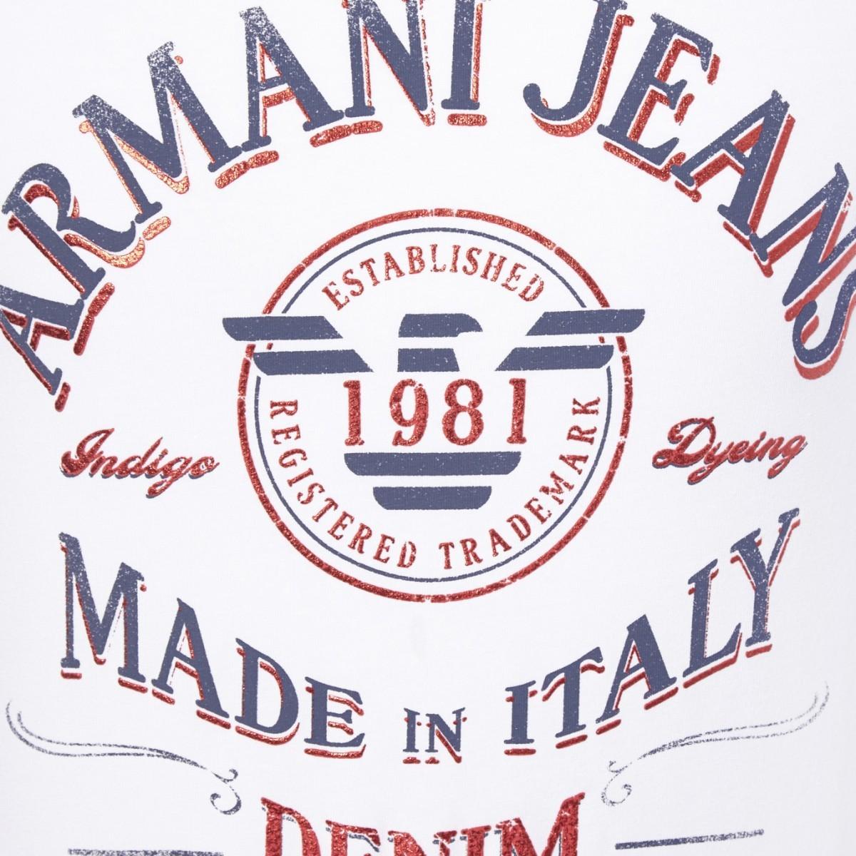 armani jeans/阿玛尼牛仔 男士t恤 c6h10 nm 10