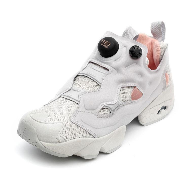 reebok锐步冲锋衣_reebok/锐步 织物拼接 instapump fury clshx 女士运动鞋