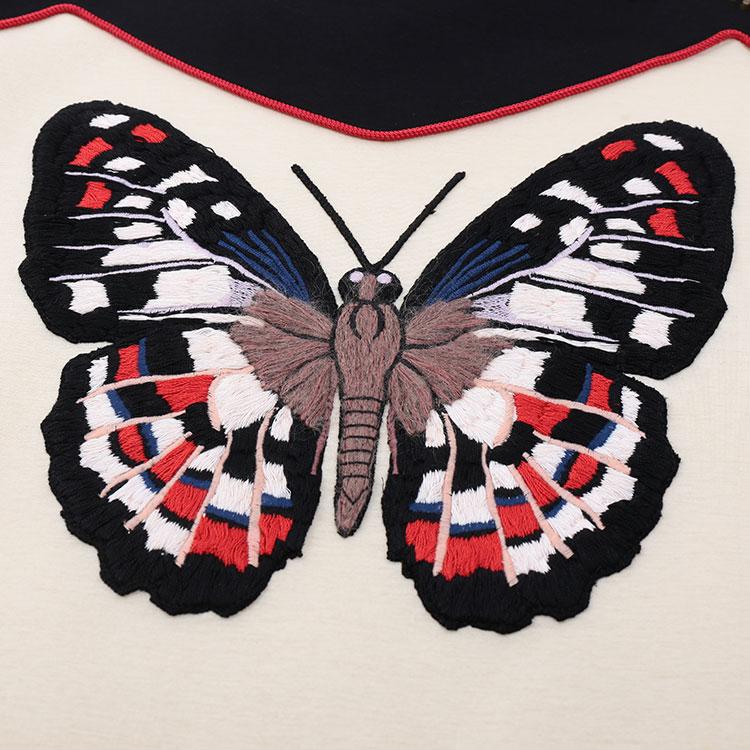 【gucci古驰 女士卫衣】gucci 蜜蜂刺绣图案 女士卫衣
