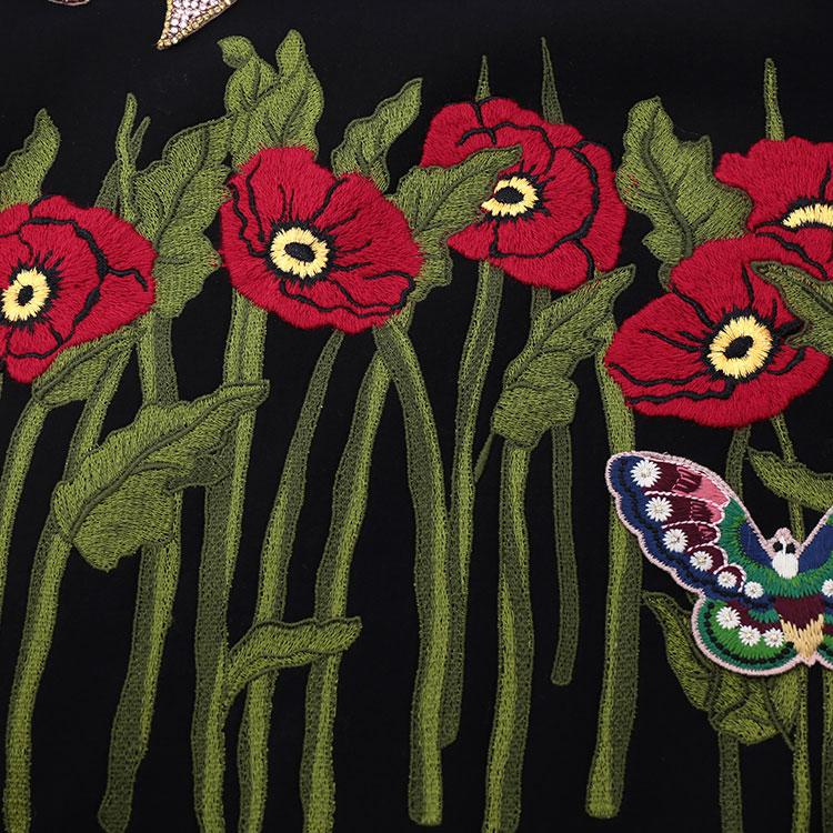 GUCCI 蜜蜂刺绣图案 女士卫衣 434539 X5C39 9227