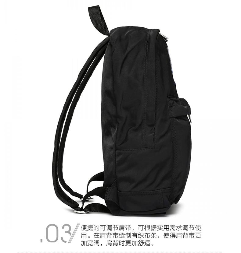 kenzo(高田贤三) kenzo/高田贤三 男士尼龙黑色虎头双肩背包/backpack图片