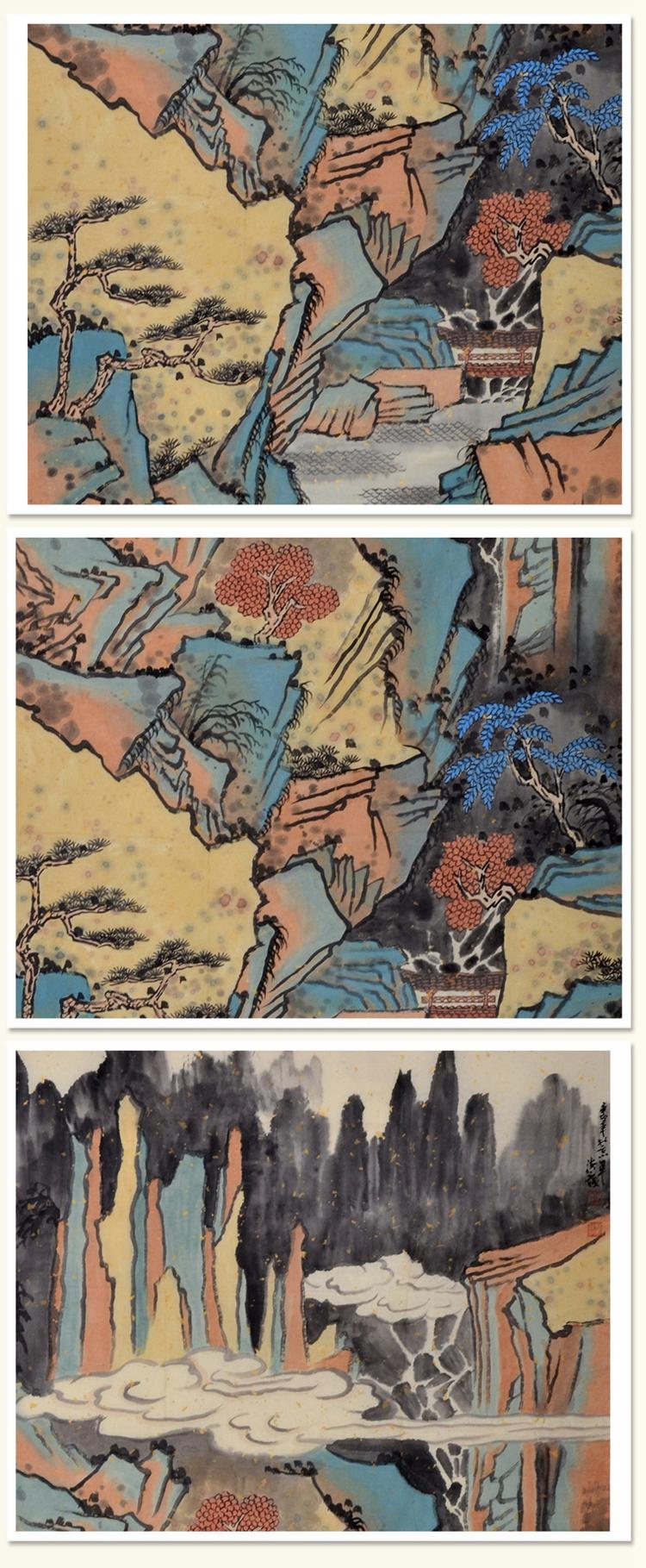 张海龙《山居图》传统水墨 写意山水