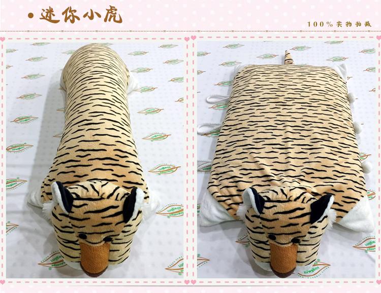 泰国进口天然乳胶枕头卡通动物枕儿童小孩抱枕可爱