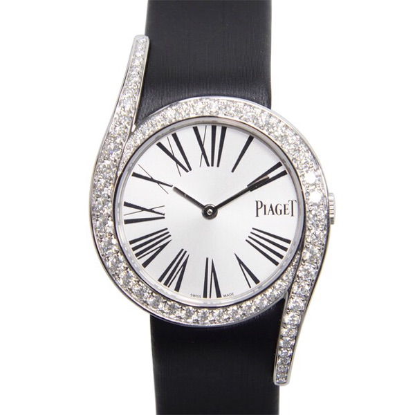 PIAGET/伯爵Limelight系列女士石英腕錶G0A38160黑带