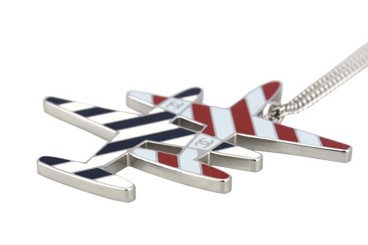 chanel/香奈儿 女士 大号彩色飞机项链