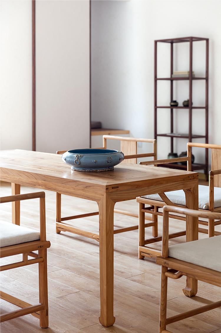 木中式简约茶室家具实木