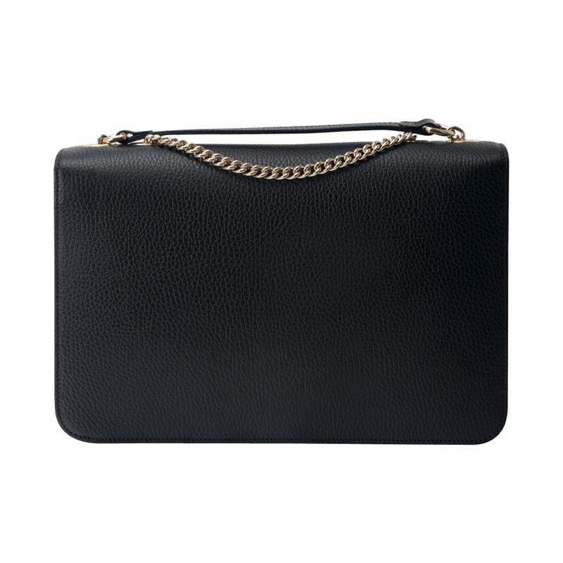 【包邮包税】Gucci古驰女包双G扣单肩斜挎翻盖包袋 510303