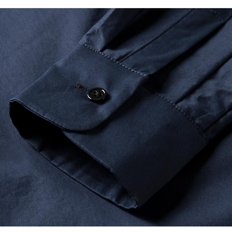 设计师品牌YAWANG CHEN/YAWANG CHEN女装/女士衬衫/女士长袖衬衫纯棉2020秋冬宽松时髦版型