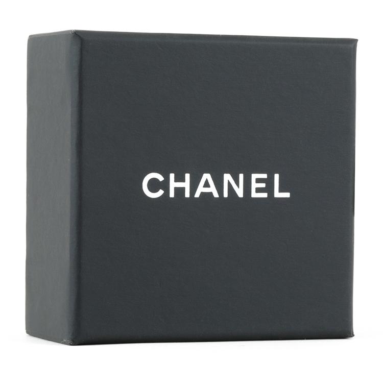 CHANEL/香奈儿  项链 双C水钻装饰吊坠项链