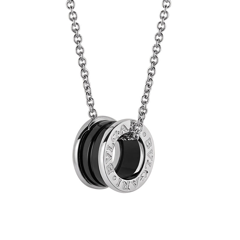 BVLGARI/宝格丽 明星同款  慈善款纯银陶瓷项链  CL856977