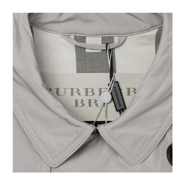 【海外奥莱直采】BURBERRY/博柏利 burberry 巴宝莉 翻领双排扣附腰带男士风衣 肯辛顿版型 男装 外套 必备风衣 38011451