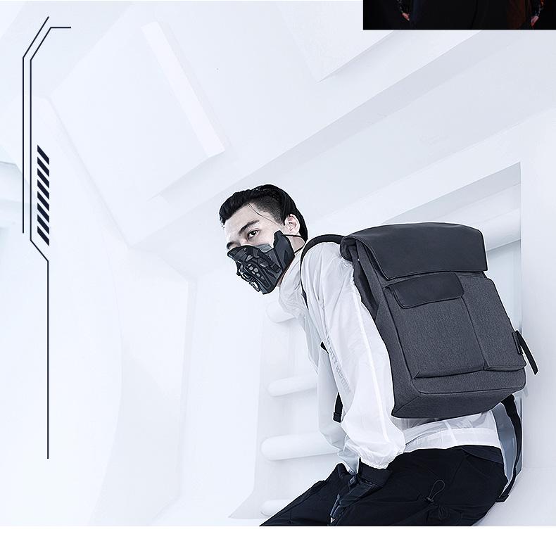 机械师双肩包 14/15.6英寸便携笔记本电脑包大容量背包男女,轻盈便携,立体有型,20L大容量,科学减负设计【新款】